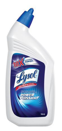 Lysolr power toilet bowl cleaner walmartca for Lysol power bathroom cleaner