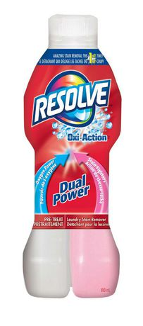 Resolve 174 Oxi Action Dual Power Fabric Stain Remover