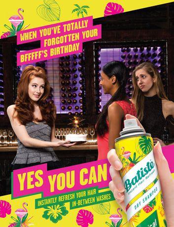 Batiste Tropical Dry Shampoo - image 5 of 6