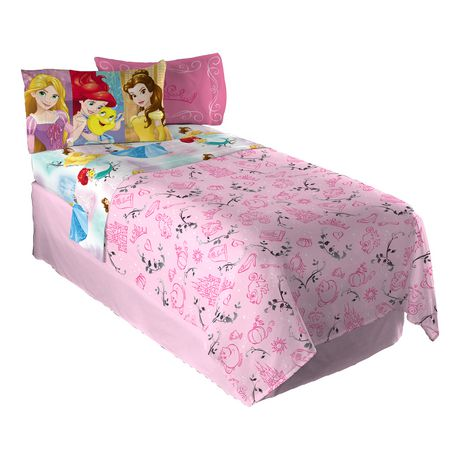 """Disney Princess  """"Princess Strong"""" Twin Sheet Set - image 1 of 1"""