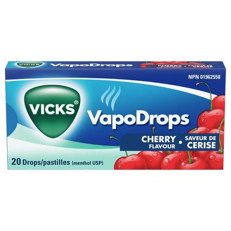 Vicks VapoDrops Drops, Cherry - image 4 of 6