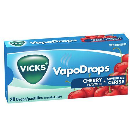 Vicks VapoDrops Drops, Cherry - image 5 of 6
