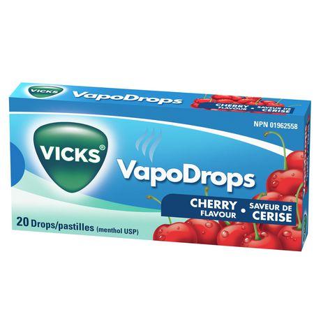 Vicks VapoDrops Drops, Cherry - image 6 of 6