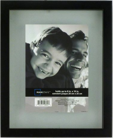 gallery 8 x 10 float frame black walmartca