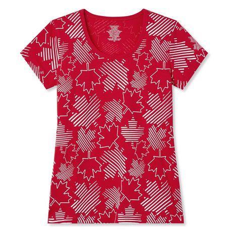 T-shirt imprimé fête du Canada George pour femmes - image 2 de 2