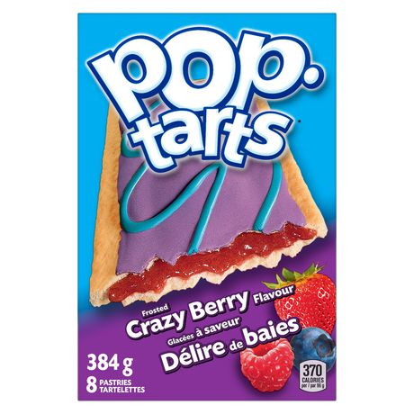Kellogg's Pop-Tarts - Frosted Crazy Berry flavour  384g - 8 pastries - image 1 of 6