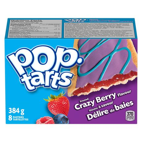 Kellogg's Pop-Tarts - Frosted Crazy Berry flavour  384g - 8 pastries - image 3 of 6