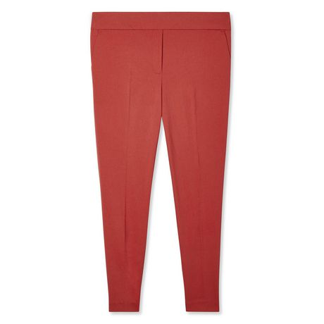 George Plus Women's Pull On Ankle Length Dress Pants - image 6 of 6