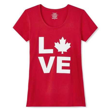 George Women's Canada Day Tee - image 2 of 2