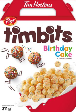 Image result for tim hortons birthday cake cereal