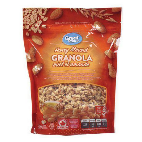 Great Value Honey Almond Granola Cereal - image 1 of 1
