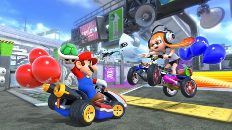 Nintendo Switch w/ Mario Kart 8 Deluxe (Full Game Download) - image 4 of 9