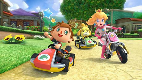 Nintendo Switch w/ Mario Kart 8 Deluxe (Full Game Download) - image 6 of 9