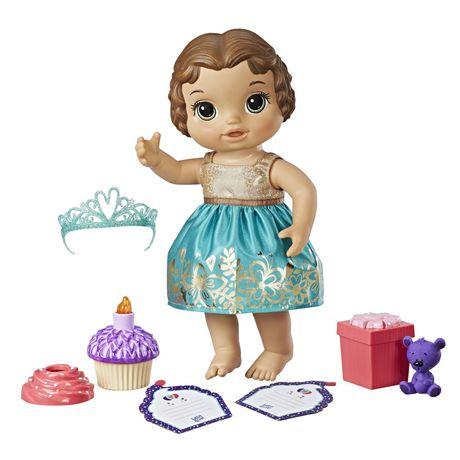 Baby Alive - Bébé fêté (Brunette) - image 2 de 3