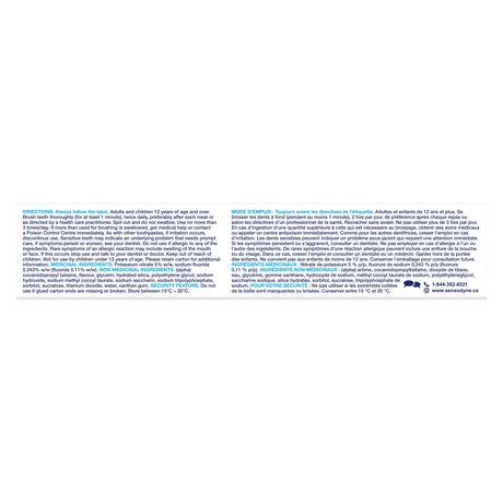 Sensodyne Whitening & Tartar Sensitivity Toothpaste - Value Size - image 7 of 8