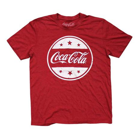 coca-cola men's printed t-shirt | walmart canada