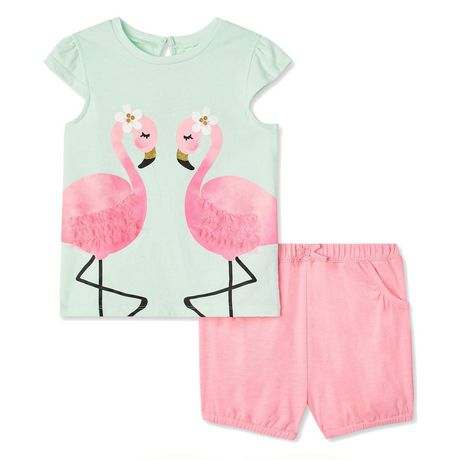 Carter/'s Butterfly Shorts ~ 3T 4T ~ Pink ~ Elastic Waist ~ Child of Mine ~ Girls
