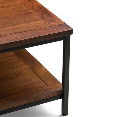 Wyndenhall Rhonda Solid Mango Wood Square Coffee Table In