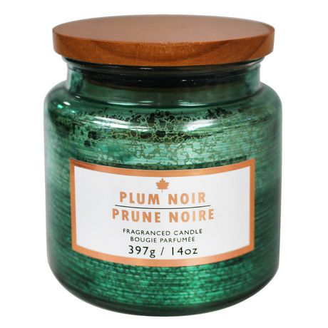 hometrends Plum Noir Scented Fragranced Candle - image 1 of 1
