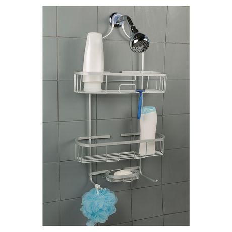 Hometrends Grand Aluminum Shower Caddy Walmart Canada