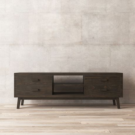 Urban Woodcraft 68'' Chicago TV Stand - image 4 of 6