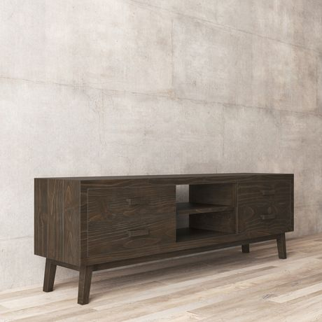 Urban Woodcraft 68'' Chicago TV Stand - image 5 of 6