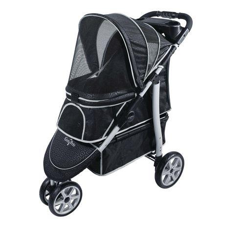 Gen7Pets Monaco Pet Stroller - Black Geometric - image 1 of 2