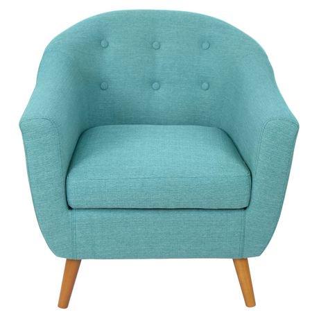 Lumisource Teal Rockwell Chair Walmart Canada