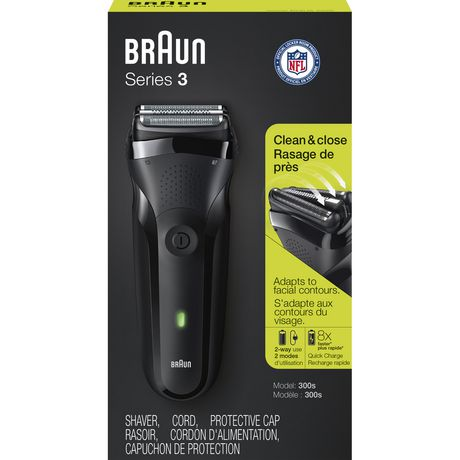 Braun Series 3 300s Rechargeable Electric Shaver - image 2 of 5