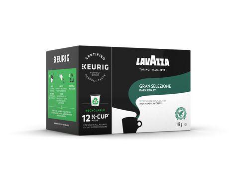 Dosettes de café noir Gran Selezione de K-Cup par Lavazza certifié Rainforest Alliance - image 1 de 1