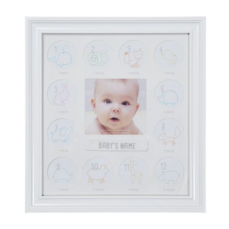 Stepping Stones First Year Frame | Walmart Canada