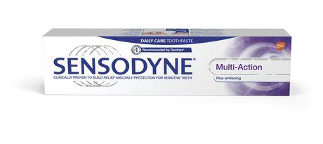 Sensodyne Multi-Action plus Whitening Sensitivity Toothpaste - image 1 of 3