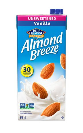 Blue Diamond Almond Breeze Unsweetened Vanilla Beverage | Walmart Canada
