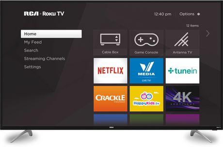 "RCA 65"" 4K ULTRA HD ROKU SMART TV - $848 (was $998)"
