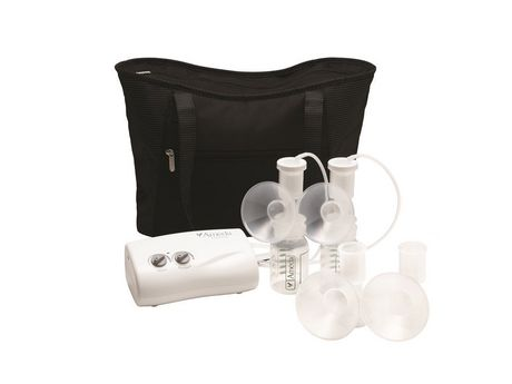 Ameda Finesse Double Electric Breast Pump with Tote Bag - image 1 of 3