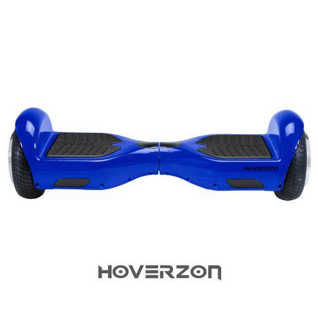 Hoverzon S Self Balancing Hoverboard Blue English