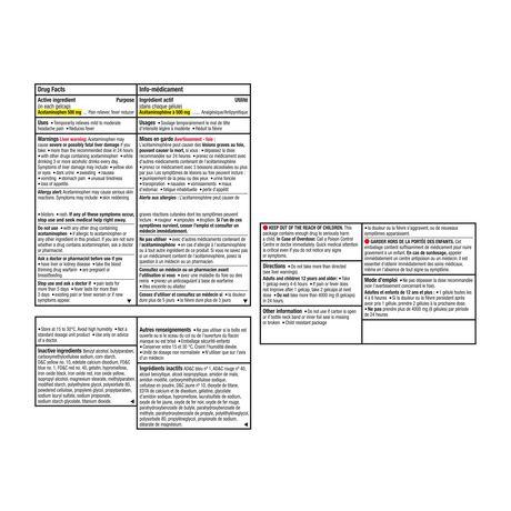 Tylenol Extra Strength Gelcaps, 500mg - image 9 of 9
