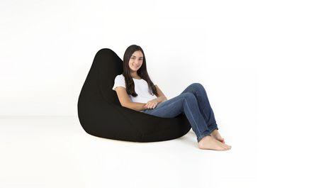 Swell Lounge Co Black Sherpa Bean Bag Cover Evergreenethics Interior Chair Design Evergreenethicsorg