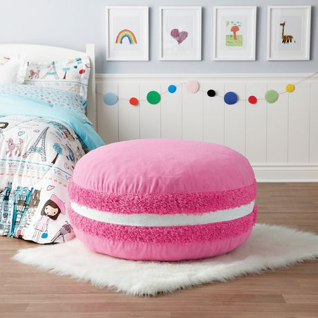 Mainstays Macaron Pouf Walmart Canada Impressive Pouf Bean Bag Chairs