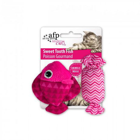 All for Paws Modern Cat Sweet Tooth Fish, Assorted - image 4 of 8