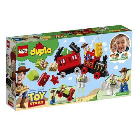 Lego Duplo Disney Pixar Toy Story Train 10894 Toy Building Kit 21 Piece Walmart Canada