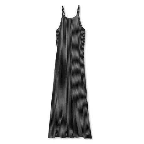 George Plus Women's Striped Maxi Dress - image 1 of 2