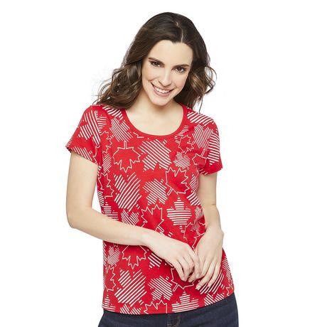 T-shirt imprimé fête du Canada George pour femmes - image 1 de 2