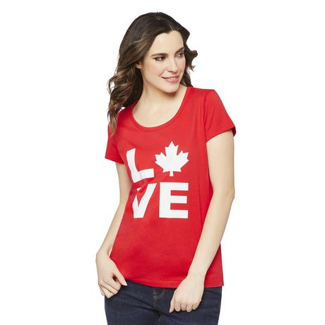 George Women's Canada Day Tee - image 1 of 2