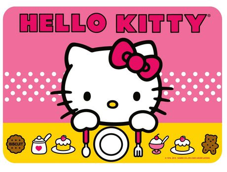 Hello Kitty Placemat Quot Time To Eat Quot Walmart Canada
