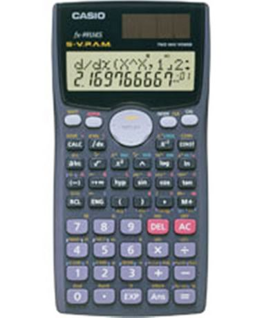 Office Equipment Calculators Casio Fx-82l Fraction Handheld Scientific Calculator With Hard Case