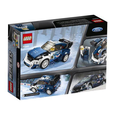 LEGO Speed Champions Ford Fiesta M-Sport WRC Rally Car Construction Building Set