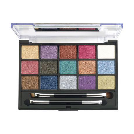 Hard Candy Look Pro! Eyeshadow Palette - Glitter   Walmart ...