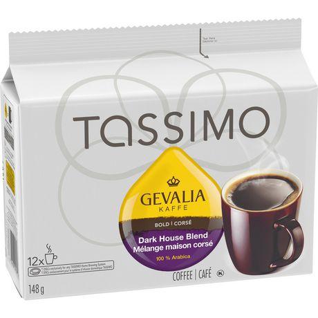 Tassimo Gevalia Dark Roast Coffee Single Serve T-Discs   Walmart Canada