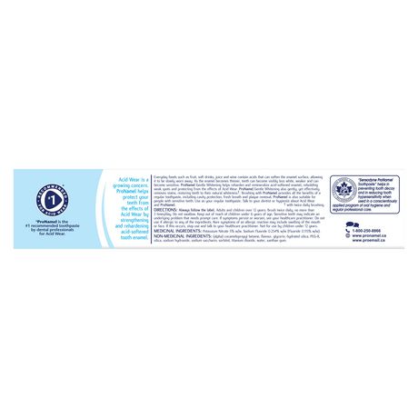 ProNamel Gentle Whitening Enamel Care Toothpaste - image 3 of 7